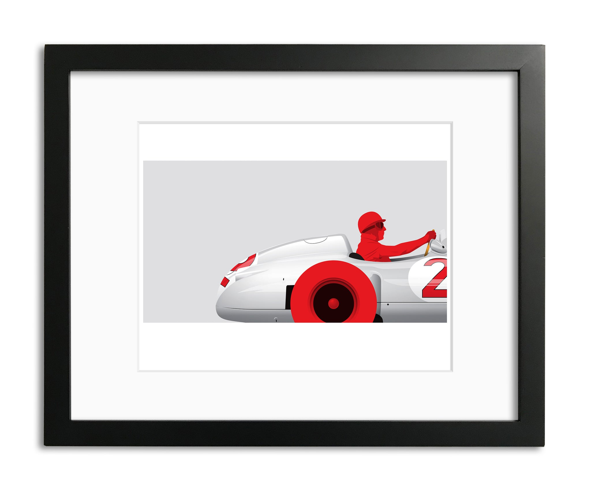 Fangio, by Ricardo Santos, Limited Edition Print