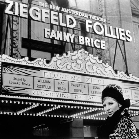 Barbara Streisand on set of the film 'Funny Girl', Limited Edition Print