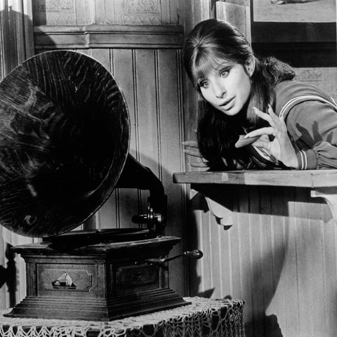 Barbara Streisand as Fanny Brice in the film 'Funny Girl'
