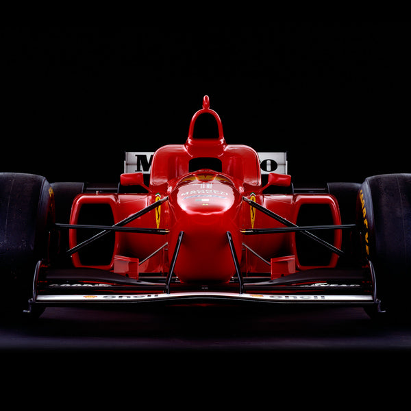 Ferrari F310, 1996, Front View by Rick Graves