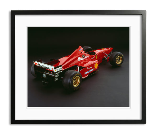 Ferrari F310, 1996, Rear View by Rick Graves, Limited Edition Print
