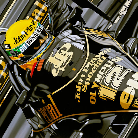 Ayrton Senna, First of Many, by Colin Carter