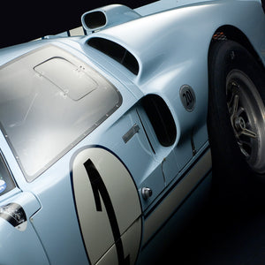 Ford 1965 GT40 MK II Side Detail by Boyd Jaynes, Limited Edition Print