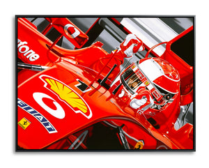 Michael Schumacher, Gimme Five by Colin Carter