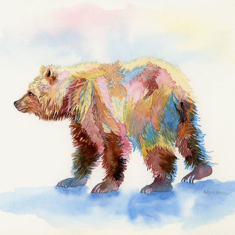 Glacier Bear by Kathy Harder, Limited Edition Print