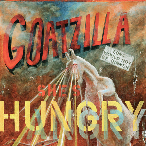 Goatzilla by Bruce Burr, Limited Edition Print