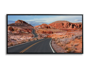 The Golden Road Panoramic by Al Gerk, Limited Edition Print