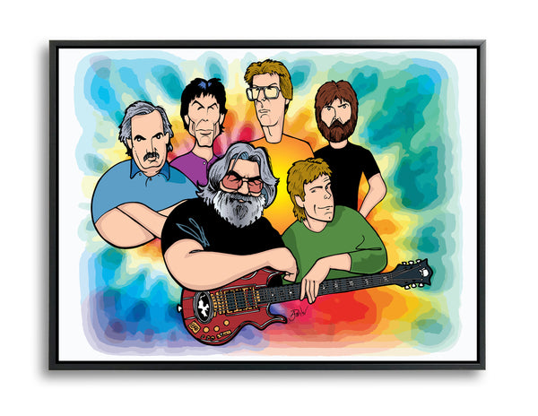 Grateful Dead by Anthony Parisi, Limited Edition Print
