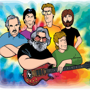 Grateful Dead, Limited Edition Print