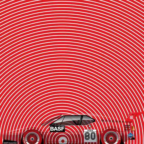Hans Stuck BMW M1, by Ricardo Santos, Limited Edition Print