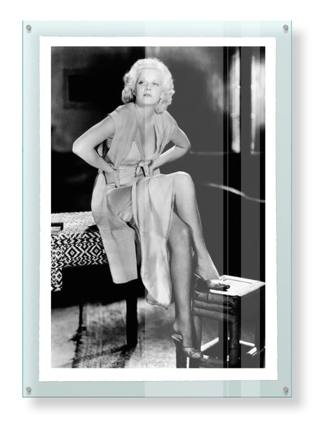 Jean Harlow, Hold Your Man, Limited Edition Print