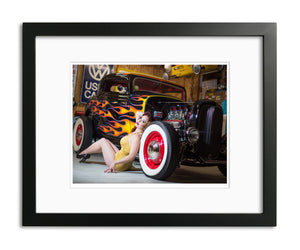 Hot Rod Vixen, Limited Edition Print
