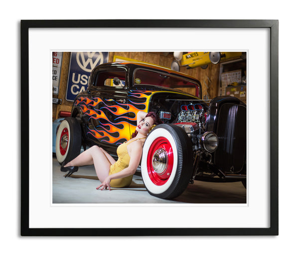 Hot Rod Vixen by Chris Gomez, Limited Edition Print