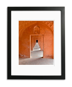 Infinity, Agra Fort, Agra Utter, Pradesh, India, by Robert Ross