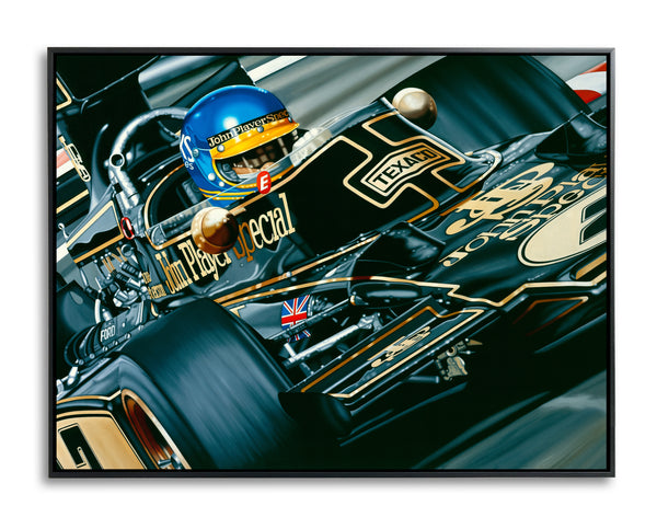 Ronnie Peterson, The Italian Job II by Colin Carter