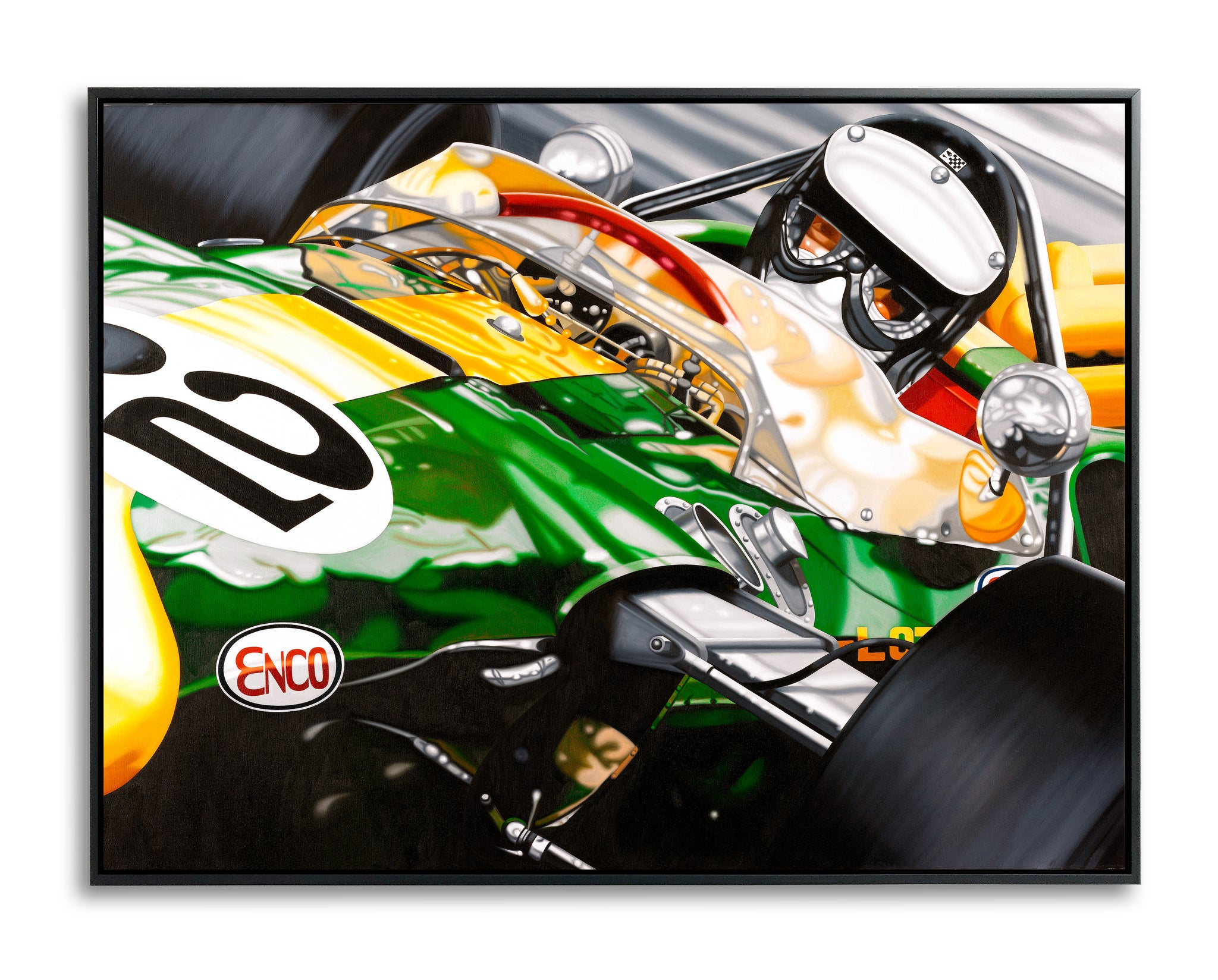 Jim Clark, Jim in the USA by Colin Carter