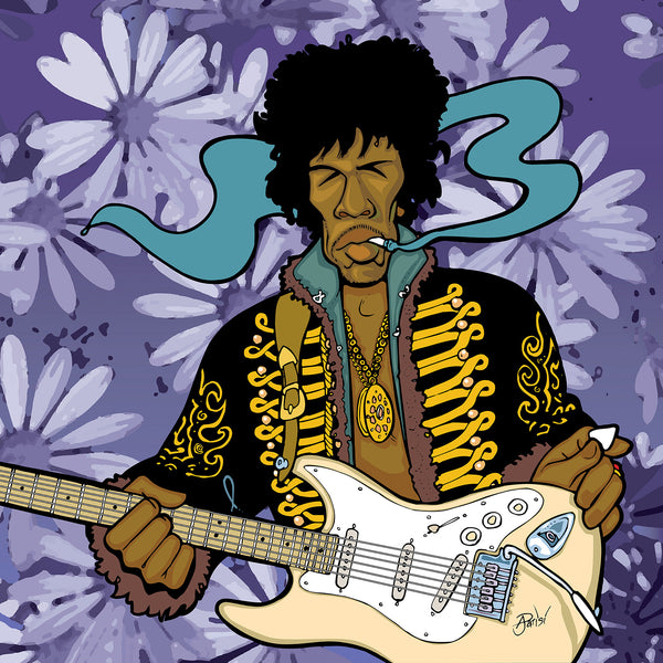 Jimi Hendrix by Anthony Parisi, Limited Edition Print