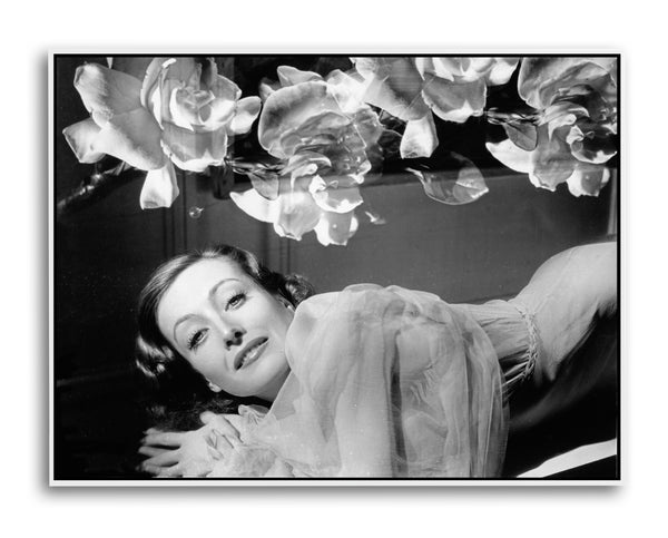 Joan Crawford, Love on the Run, Limited Edition Print on paper, canvas and acrylic