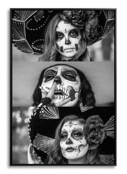 Las Tres Charras by Chris Gomez, Limited Edition Print