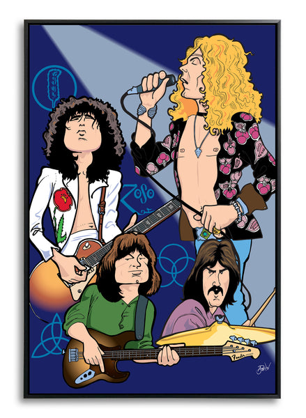 Led Zeppelin by Anthony Parisi, Limited Edition Print