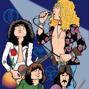 Led Zeppelin, Limited Edition Print