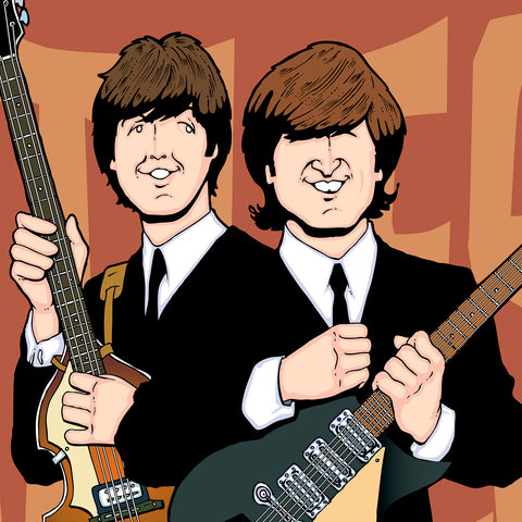 Lennon & McCartney by Anthony Parisi, Limited Edition Print