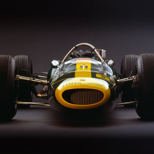 Lotus 34 Ford, 1964, Front View by Rick Graves