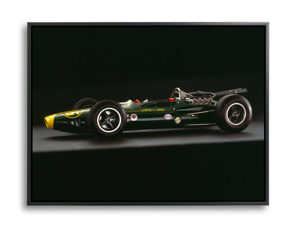 Lotus 34 Ford, 1964, Side View by Rick Graves