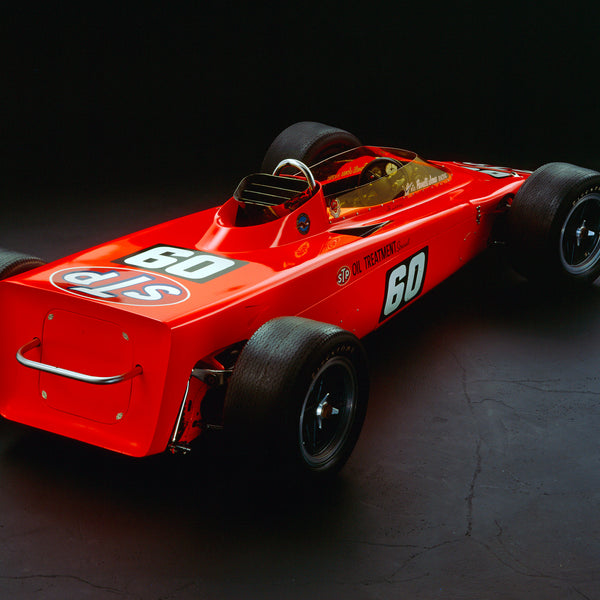 Lotus 56 Turbine, 1968, Rear View by Rick Graves