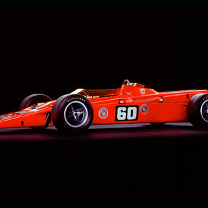 Lotus 56 Turbine, 1968, Side View by Rick Graves