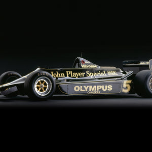 Lotus 79 Ford, 1978, Side View by Rick Graves