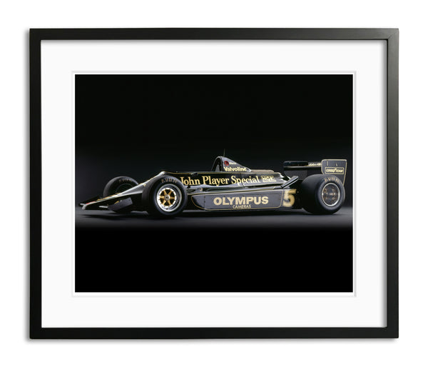 Lotus 79 Ford, 1978, Side View by Rick Graves, Limited Edition Print