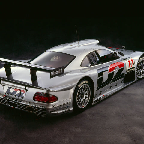 Mercedes CLK GTR, 1998, Rear View by Rick Graves, Limited Edition Print