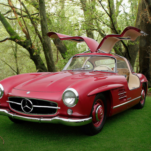 Mercedes Benz 300SL Gullwing by Breck Rothage, Limited Edition Print