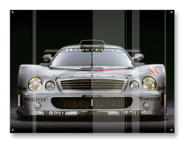 Mercedes CLK GTR, 1998, Front View by Rick Graves