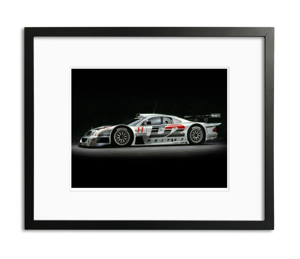 Mercedes CLK GTR, 1998, Side View by Rick Graves, Limited Edition Print