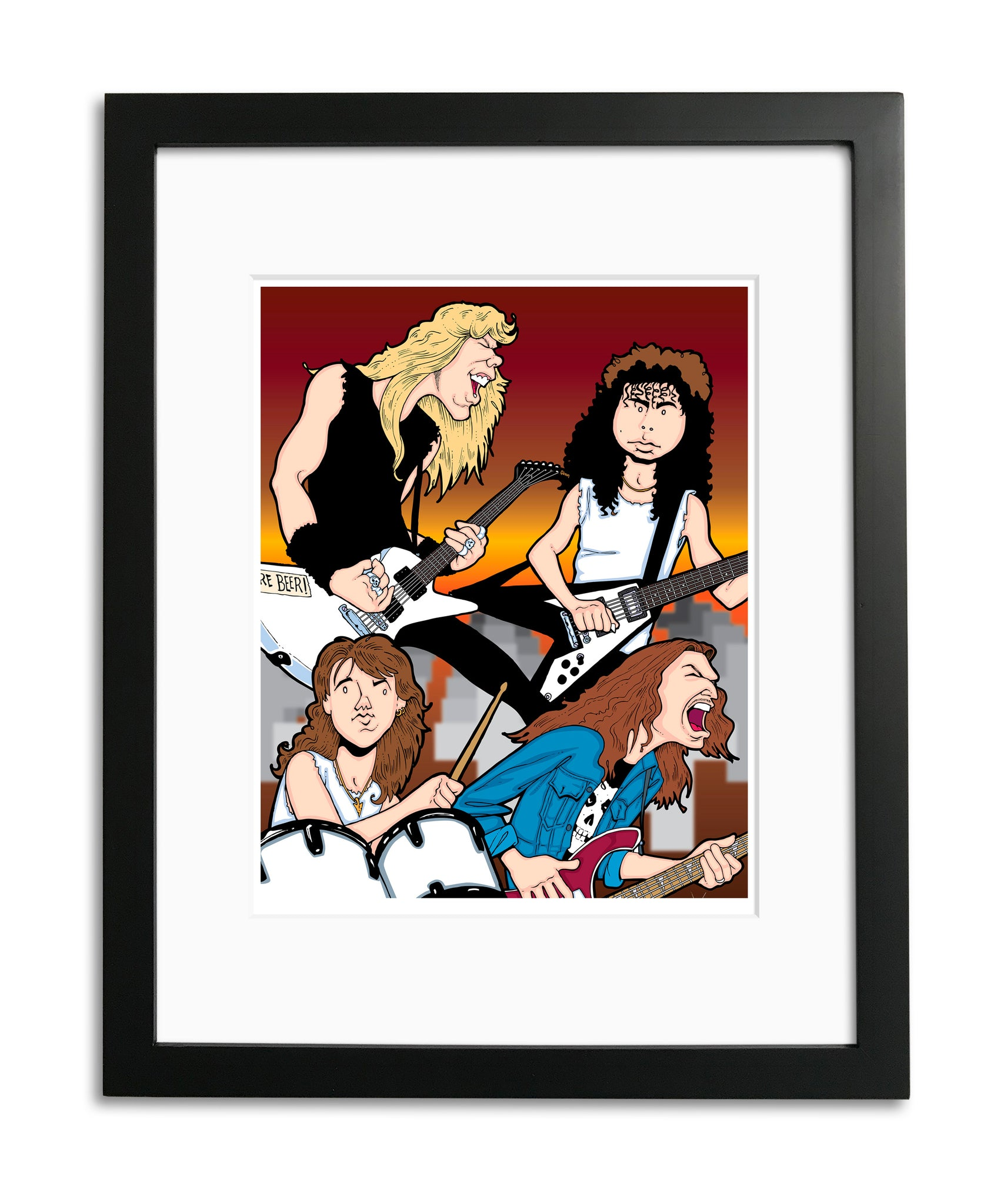 Metallica by Anthony Parisi, Limited Edition Print