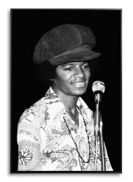 Michael Jackson, On Stage, Limited Edition Print