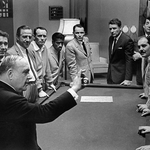 Ocean's 11, Cast of the 1960 Film, Limited Edition Print on paper, canvas and acrylic
