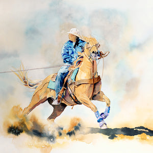 Passage to a Buckle by Kathy Harder, Limited Edition Print