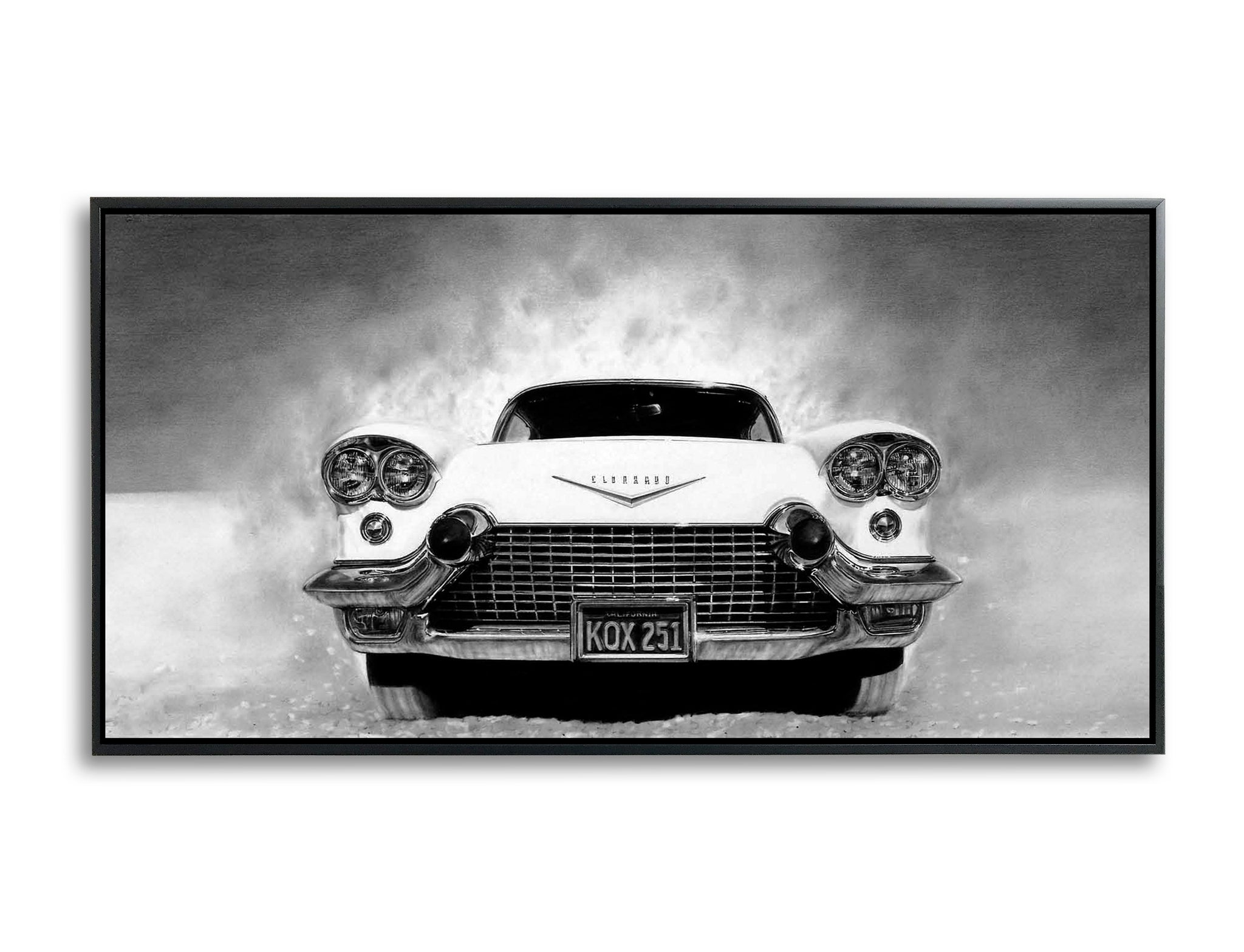 Point the car by Bruce Burr, Limited Edition Print