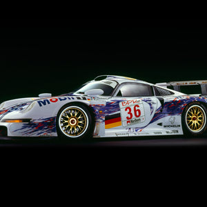 Porsche 911 GT1, 1997, Side View by Rick Graves, Limited Edition Print