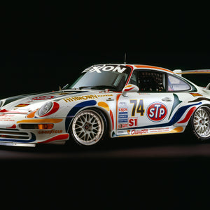 Porsche 911 GT2, 1995, Side View by Rick Graves