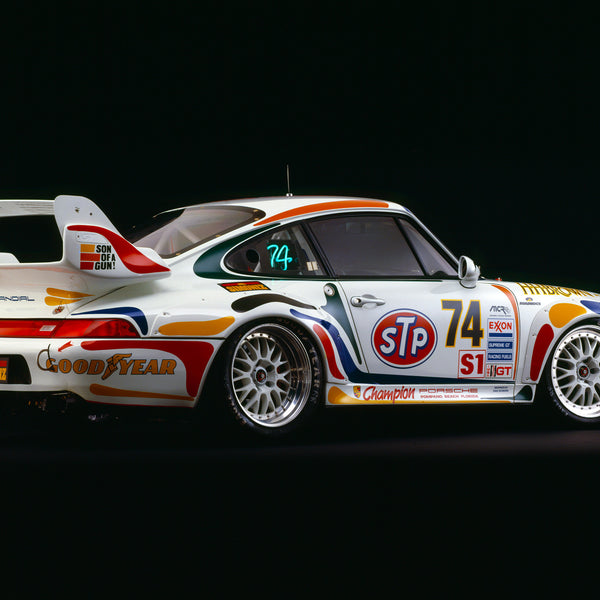 Porsche 911 GT2, 1995, Rear View by Rick Graves