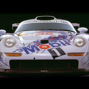 Porsche 911 GT1, 1997, Front View by Rick Graves