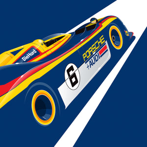 Porsche 917 by Ricardo Santos, Limited Edition Print