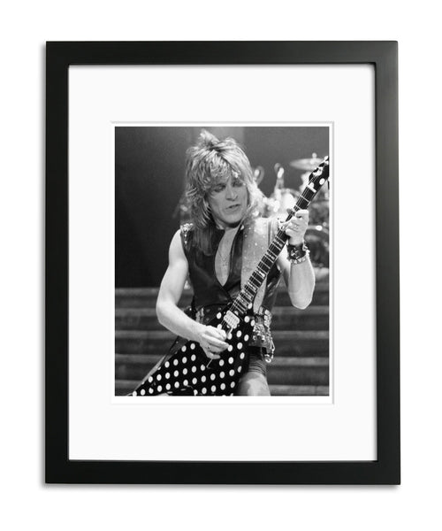 "Randy Rhoads, ""Polka Dot Flying V"" Limited Edition Print"