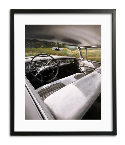 Rear View Mirror by Bruce Burr, Limited Edition Print