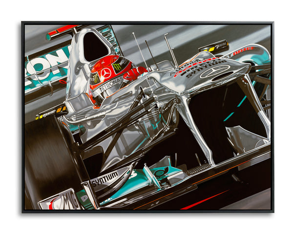 Michael Schumacher, Return of a Legend by Colin Carter