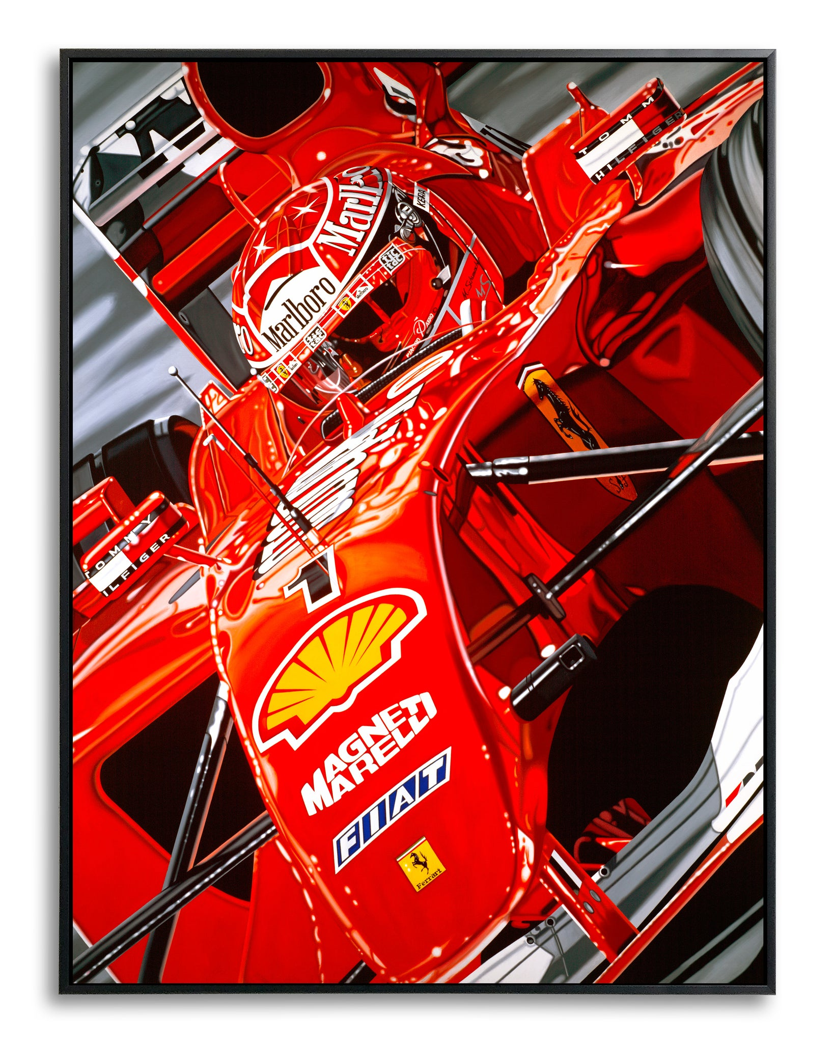 Michael Schumacher, Ringmaster by Colin Carter